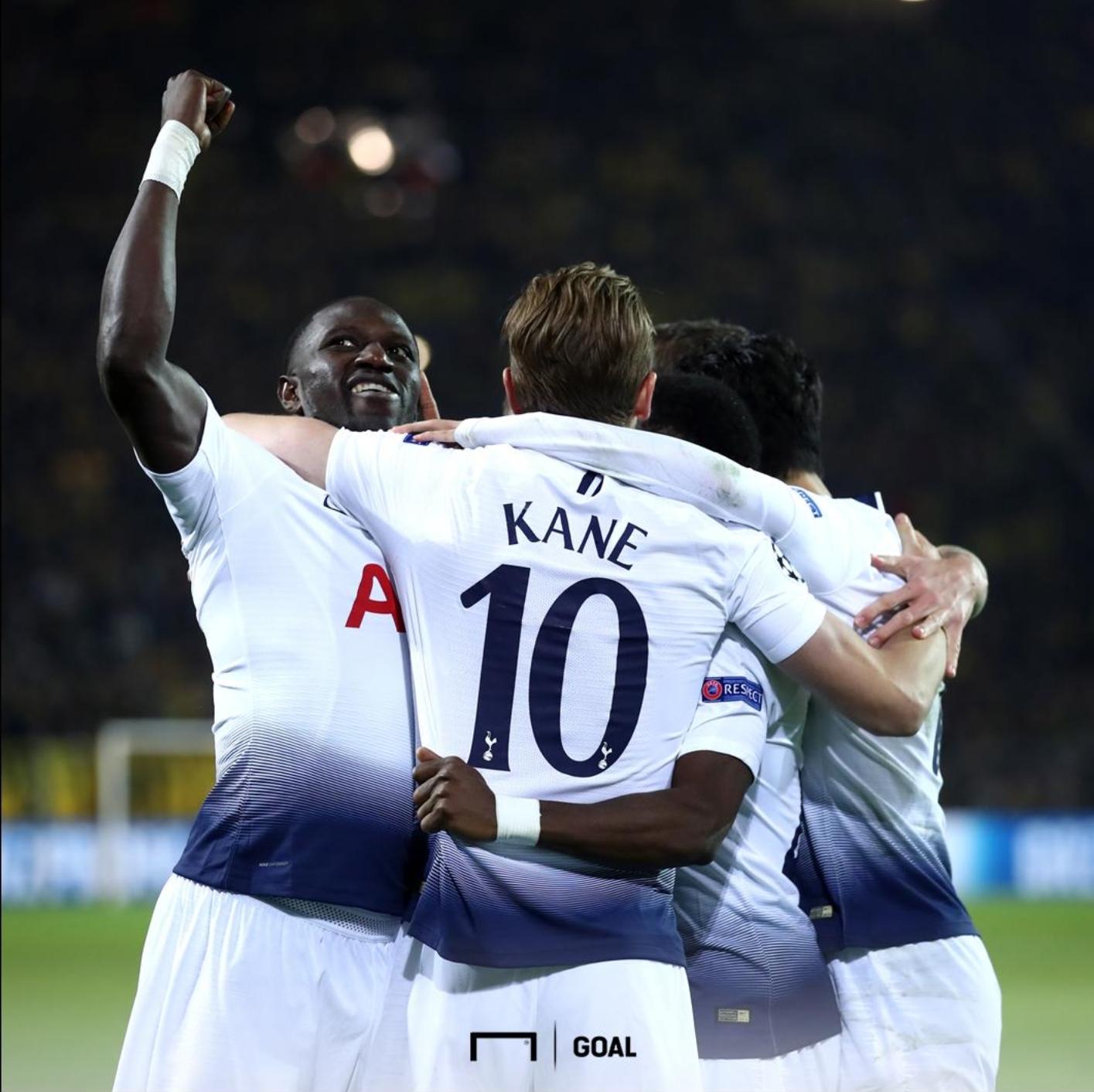 Match Report: Borussia Dortmund 0 – 1 Tottenham (0-4 agg)